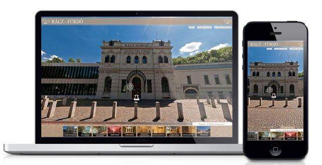PC és mobil eszközökön megjelenő virtuális séta